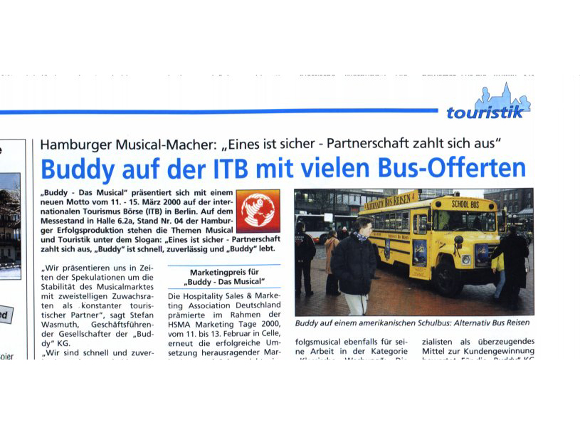 Reisemesse Berlin, ITB und Buddy Holly